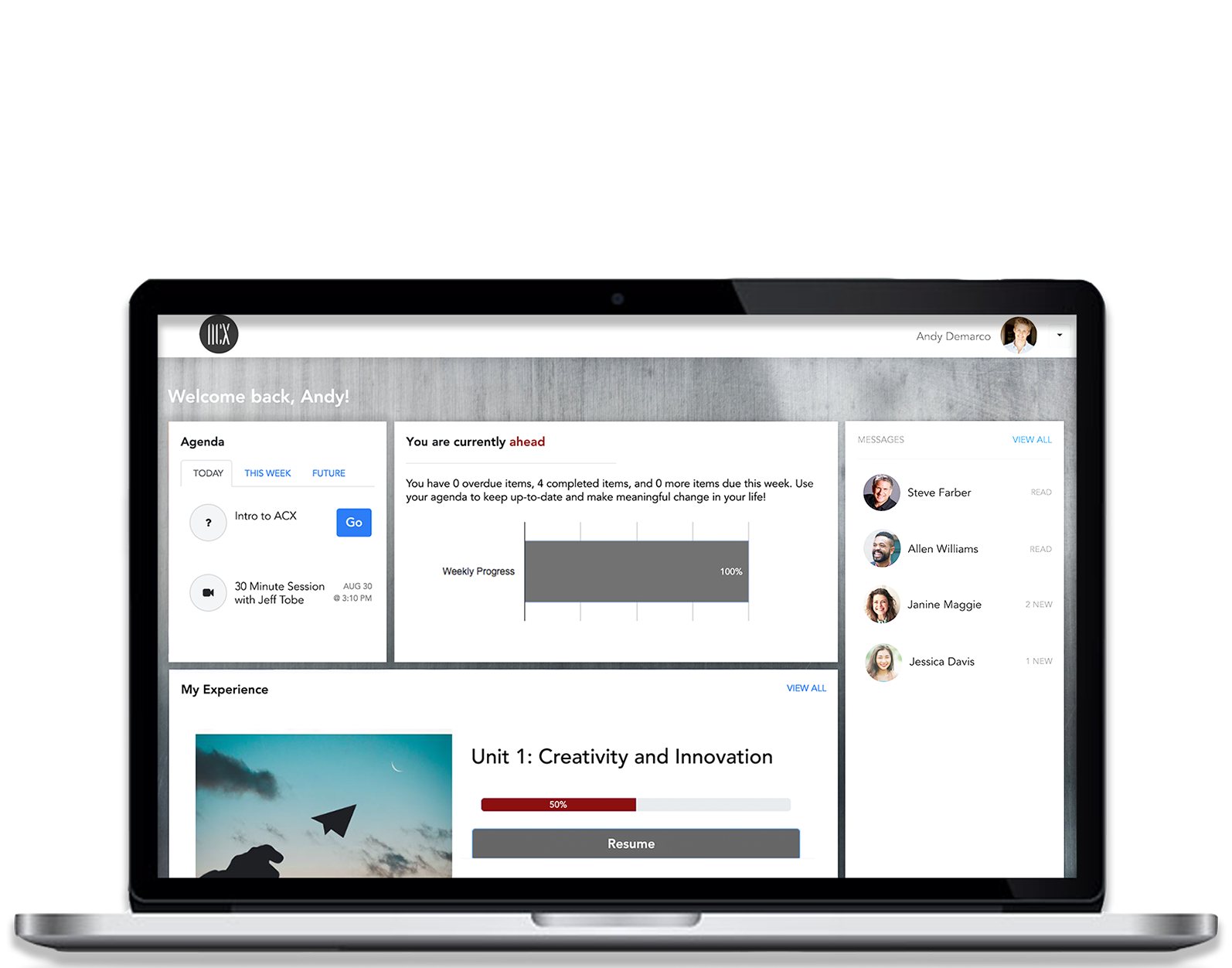 Sign up for The Associate of Customer Experience